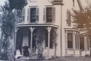 Original house of J.C. Brining, photo circa 1920s, courtesy Boonsborough Museum of History