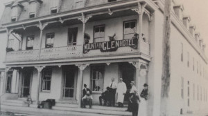 Mountain Glen Hotel in Boonsboro, photo courtesy Boonsborough Museum of History