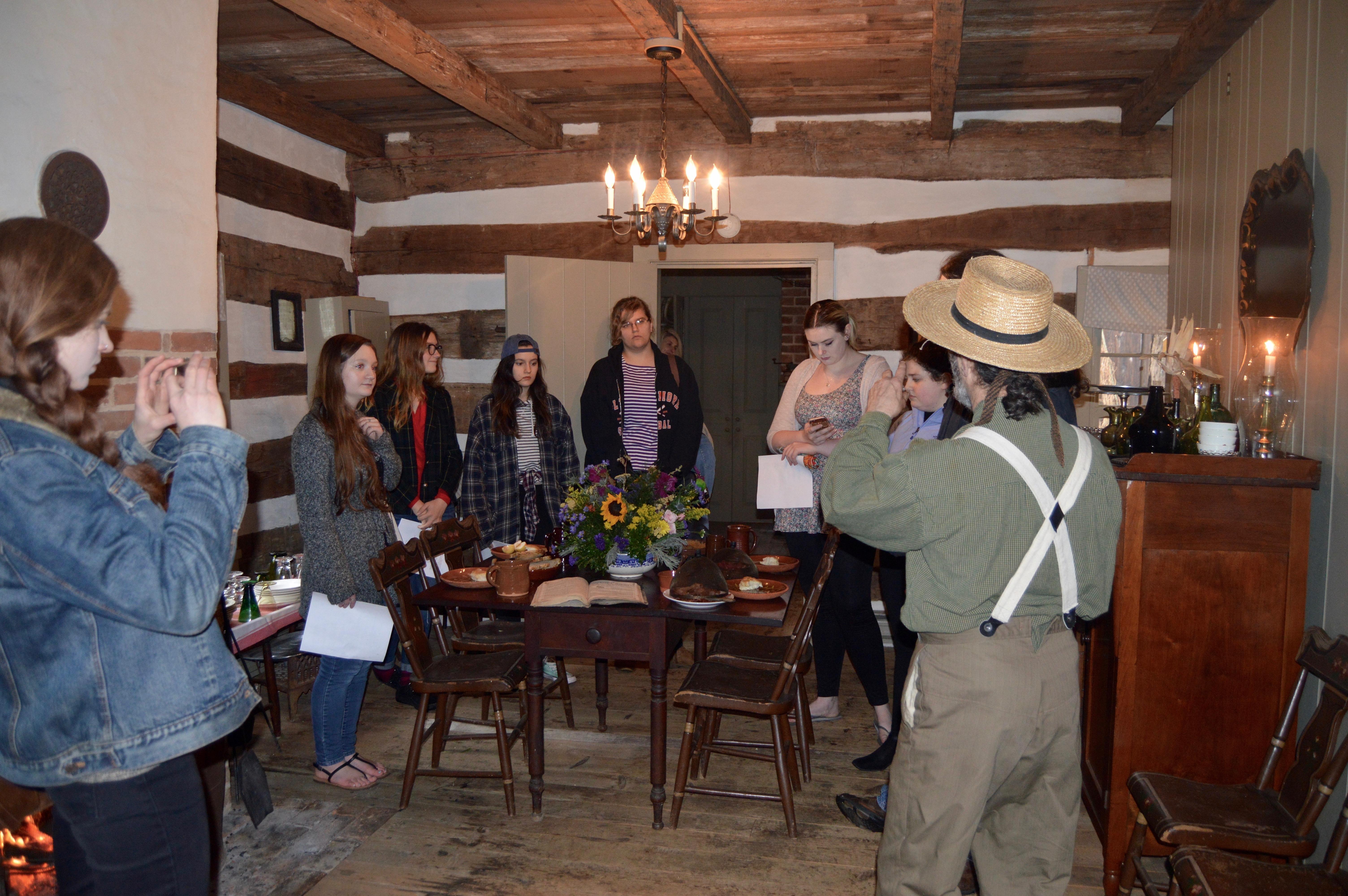 Barbara Ingram Students Visit Bowman House