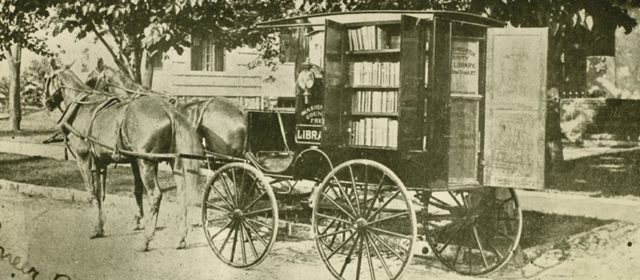 Boonsboro Reflections: Library Delivered Books to Communities