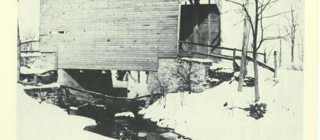 Boonsboro Reflections: Boonsboro's Covered Bridge