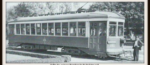 Boonsboro Reflections: The Boonsboro Trolley