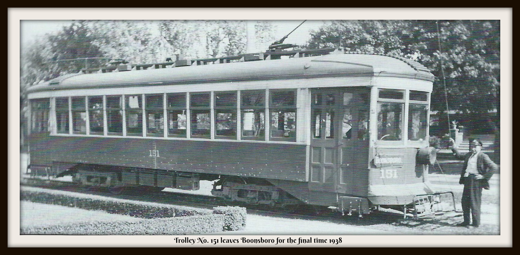 Boonsboro Reflections: The Boonsboro Trolley