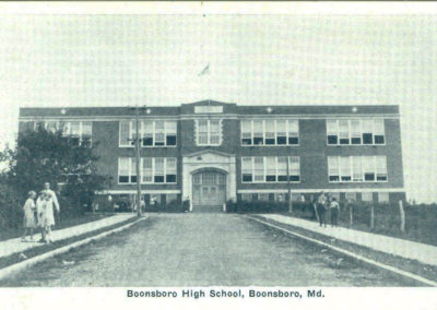 Boonsboro High School before current building was built.
