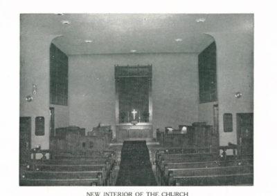 Trinity Lutheran post renovation in 1950s