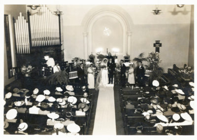 Wedding of Glenn and Charlotte Haines at Trinity Lutheran