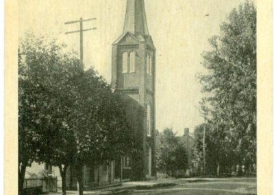 Trinity Lutheran before steeple removal