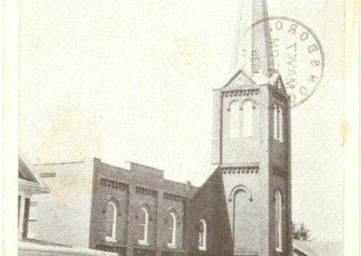 Trinity Lutheran postcard