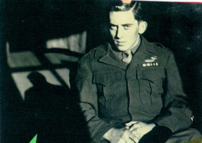 Jim Bowers of Boonsboro, in World War II