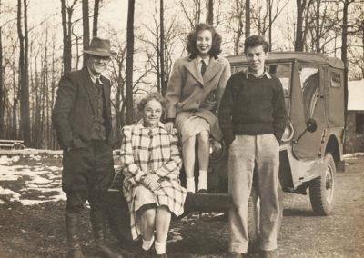 The Robert Palmer (park superintendant) family