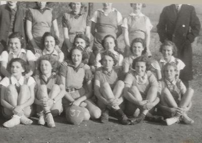 Boonsboro High School Girls Field Ball Team 1937