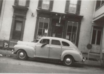 7 N. Main Street, old car