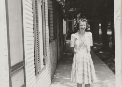 Kim Houser who lived at 22 st paul street