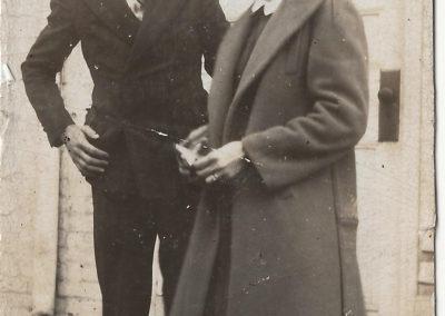 Richard and June Clopper around 1943