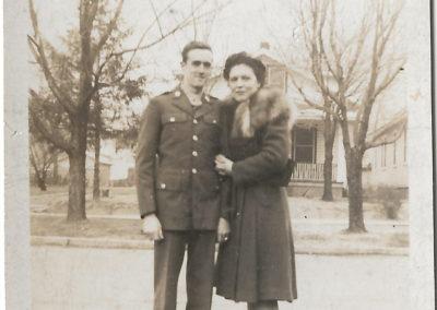 Glenn and Charlotte Haynes, 1943
