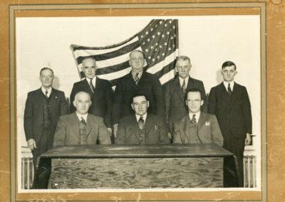 Boonsboro Mayor and Council  circa 1945