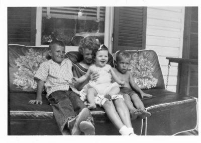 left to right - Timothy Haynes, Sue Hauser, Cathy Haynes, Kim Hauser