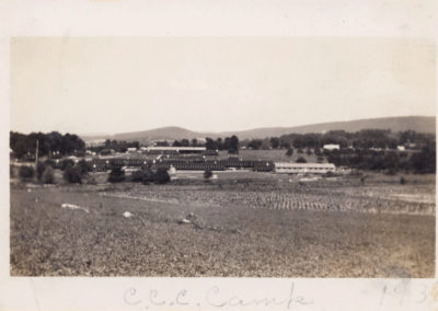 Civilian Conservation Corps CCC camp at Shafer Park