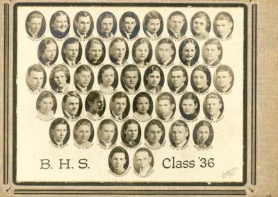 Boonsboro High School Class of 1936