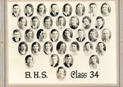 Boonsboro High School Class of 1934