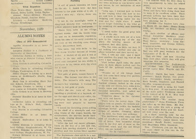 Page 2  The Star of Boonsboro High School November 1929 issue
