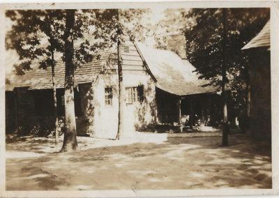 Ranger house at the park